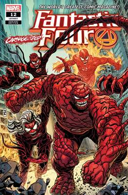 Fantastic Four Vol. 6 (2018- Variant Covers) (Comic Book) #12