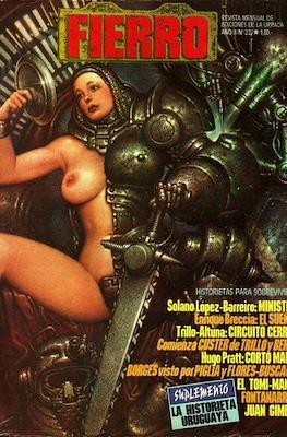 Fierro (Grapa (1984-1992) Primera época) #22