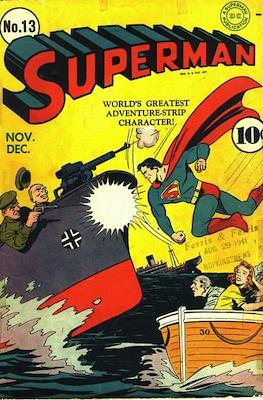 Superman Vol. 1 / Adventures of Superman Vol. 1 (1939-2011) (Comic Book) #13