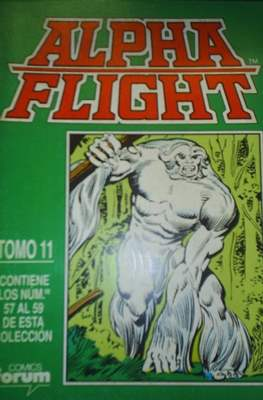 Alpha Flight (Vol. 1) (Retapado Rústica) #11