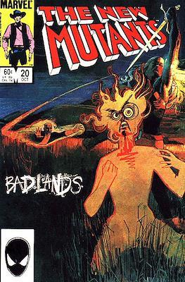 The New Mutants (Comic Book) #20