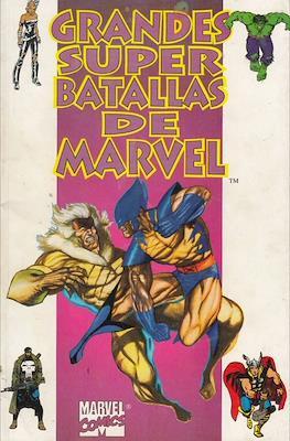Grandes super batallas de Marvel