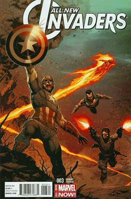 All-New Invaders (2014 Variant Cover) (Comic Book) #3