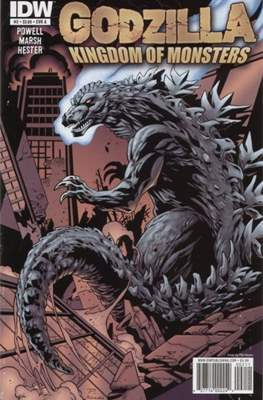 Godzilla: Kingdom of Monsters (Comic Book) #2