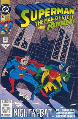 Superman: The Man of Steel (Comic book) #14