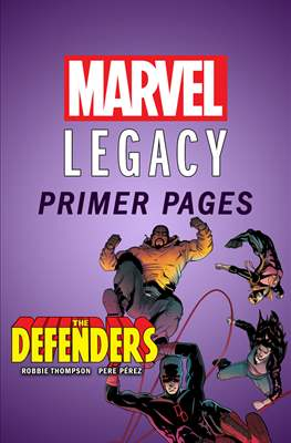 The Defenders: Marvel Legacy Primer Pages