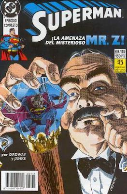 Superman: El Hombre de Acero / Superman Vol. 2 (Grapa 36 pp) #115