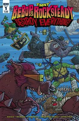 TMNT: Bebop & Rocksteady Destroy Everything (Comic book / Digital) #1