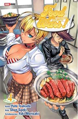 Food Wars! Shokugeki No Soma (Rústica) #4