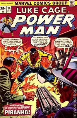 Hero for Hire / Power Man Vol 1 / Power Man and Iron Fist Vol 1 (Comic Book) #30