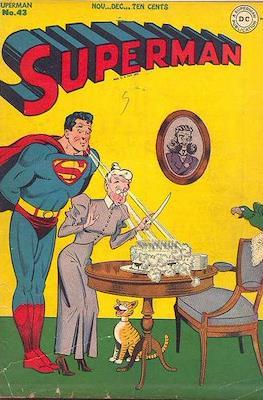 Superman Vol. 1 / Adventures of Superman Vol. 1 (1939-2011) (Comic Book) #43