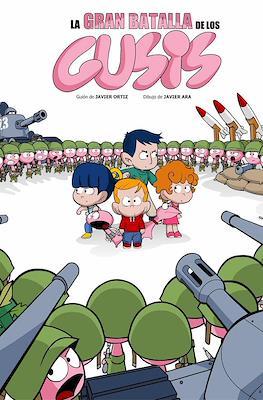 La gran batalla de los gusis (Cartoné 48 pp) #