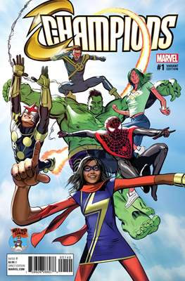 Champions Vol. 2 (2016) Variant Covers (Comic Book) #1.12