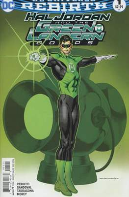 Hal Jordan and the Green Lantern Corps (Vol. 1 2016-... Variant Covers) (Grapa) #1.1