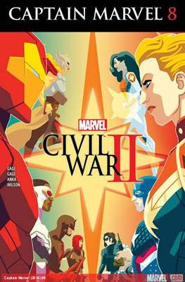 Captain Marvel Vol. 9 (2016) (Comic-Book) #8