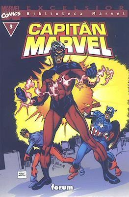 Biblioteca Marvel: Capitán Marvel (2002) (Rústica 160 pp) #3