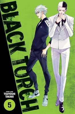 Black Torch (Paperback) #5