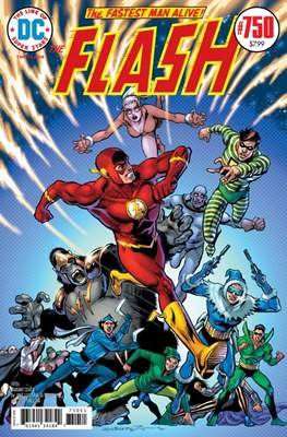 The Flash Vol. 5 (2016- Variant Cover) (Comic Book) #750.4