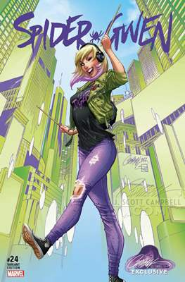 Spider-Gwen Vol. 2. Variant Covers (2015-...) #24.2