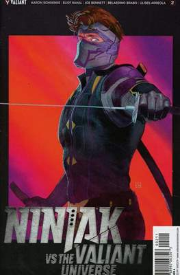 Ninjak vs The Valiant Universe (Comic Book) #2