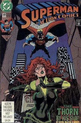 Action Comics Vol. 1 (1938-2011; 2016-) (Comic Book) #669