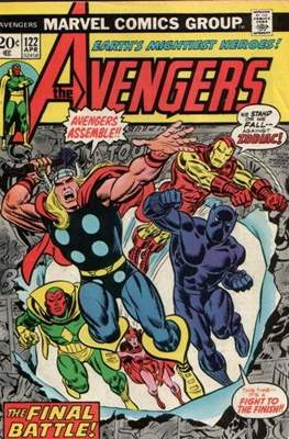 The Avengers Vol. 1 (1963-1996) (Comic Book) #122