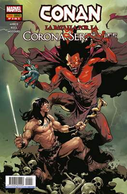 Conan: La batalla por la Corona Serpiente (Grapa 48 pp) #3