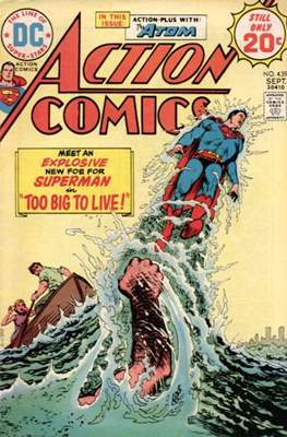 Action Comics Vol. 1 (1938-2011; 2016-) (Comic Book) #439