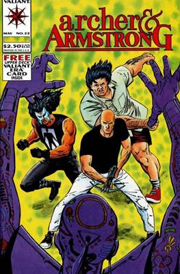 Archer & Armstrong (Comic-book) #22