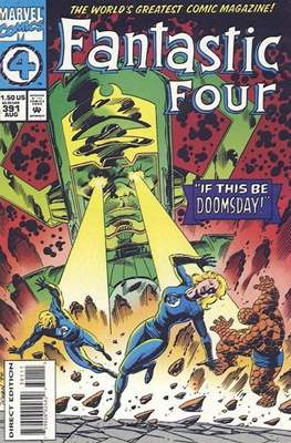 Fantastic Four Vol. 1 (1961-1996) (saddle-stitched) #391