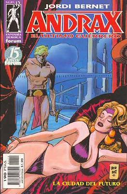 Andrax, el ultimo guerrero (Grapa.) #12