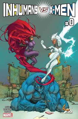 Inhumans vs. X-Men (Comic-Book) #0