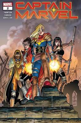 Captain Marvel Vol. 10 (2019-) (Comic Book) #2