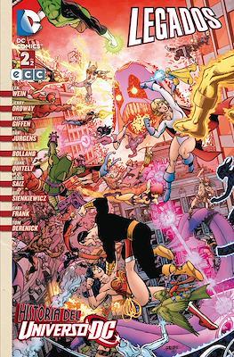 Legados. Historia del universo DC (Rústica 176 pp) #2
