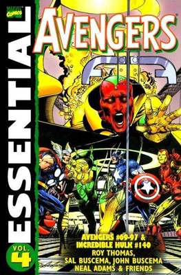 Marvel Essential: Avengers (Rústica) #4