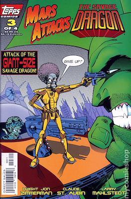 Mars Attacks The Savage Dragon (Grapa - Comic Book) #3