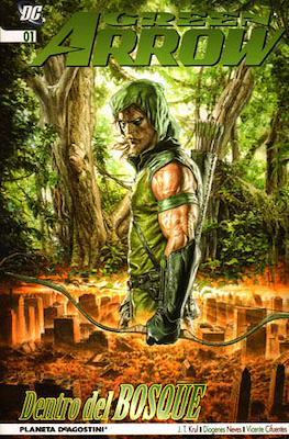 Green Arrow. Dentro del bosque