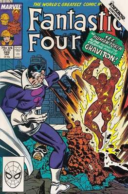 Fantastic Four Vol. 1 (1961-1996) (saddle-stitched) #322