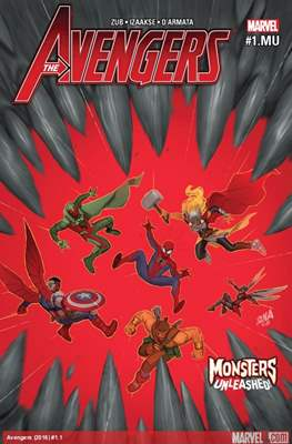 The Avengers #1.MU Monsters Unleashed