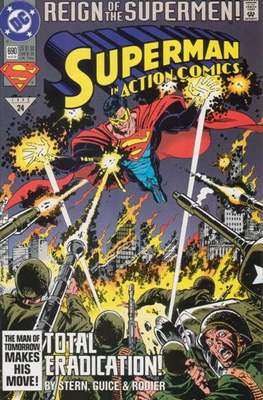 Action Comics Vol. 1 (1938-2011; 2016-) (Comic Book) #690