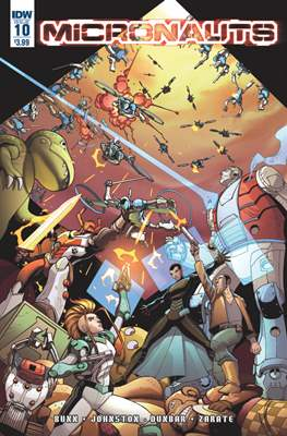 Micronauts (2016-2017) (Comic Book) #10