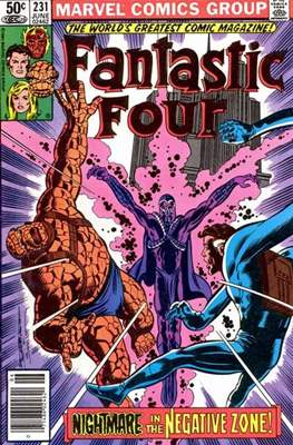 Fantastic Four Vol. 1 (1961-1996) (saddle-stitched) #231