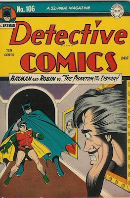 Detective Comics Vol. 1 (1937-2011; 2016-) (Comic Book) #106