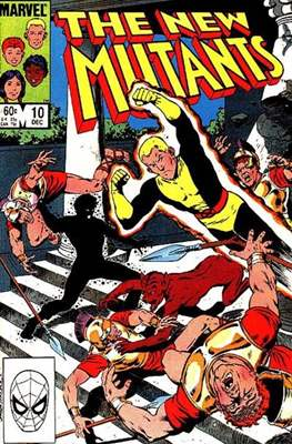 The New Mutants (Grapa) #10