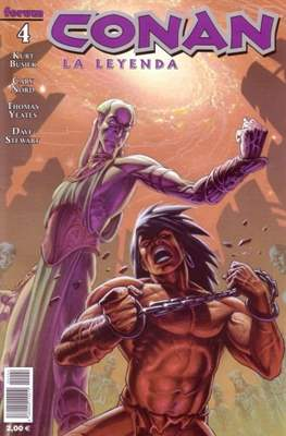 Conan. La Leyenda (Grapa 28-116 pp) #4