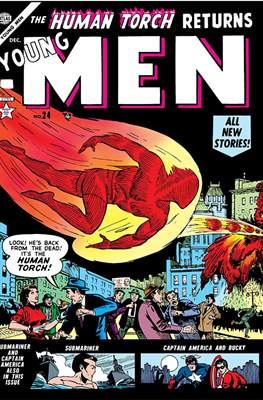 Cowboy Romances / Young Men (Comic Book 48 pp) #24