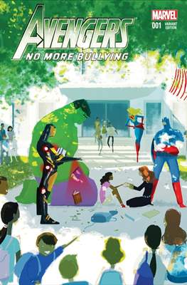 Avengers No More Bullying (Variant Cover)