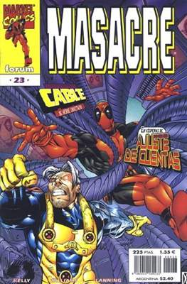 Masacre Vol. 3 (Grapa 24 pp) #23