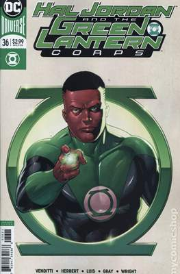 Hal Jordan and the Green Lantern Corps (Vol. 1 2016-2018 Variant Cover) (Comic Book) #36