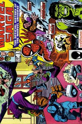 Marvel Saga (Comic-book.) #2